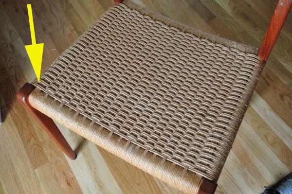 Basket Weaving Jig : How to make a wood shelf unit danish cord weaving spline
