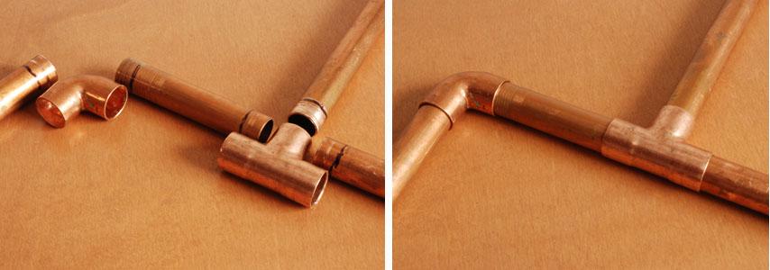 Copper Pipe Ings No Solder Image Led Tubing