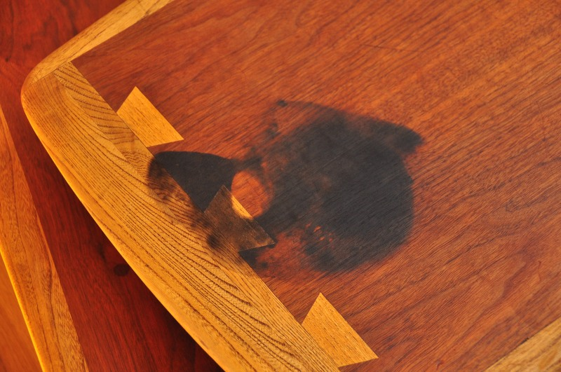 . Removing Stains from Teak and Walnut Furniture